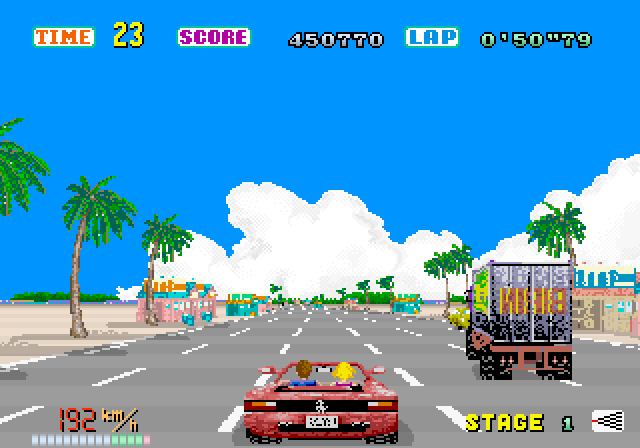 250apps Com Play Outrun A Racing Game